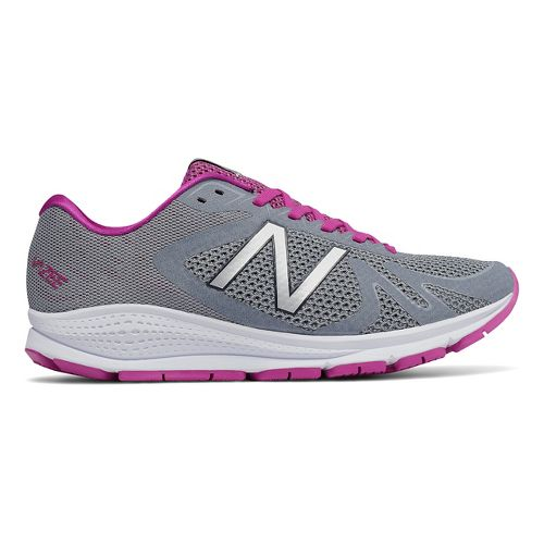 Womens New Balance Vazee Urge Running Shoe - Grey/Pink 8