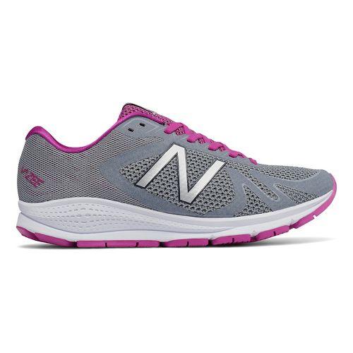 Womens New Balance Vazee Urge Running Shoe - Grey/Pink 8.5