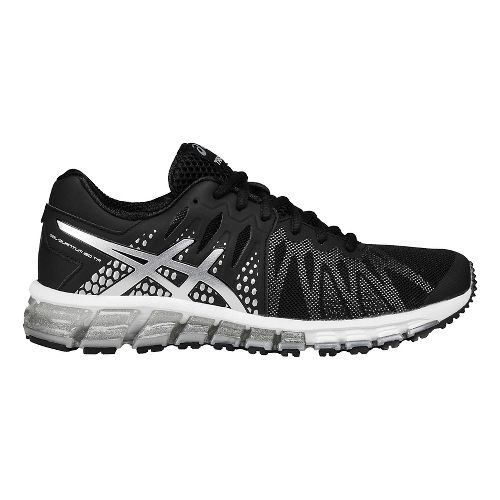 Womens ASICS GEL-Quantum 180 TR Cross Training Shoe - Black/Silver 8.5