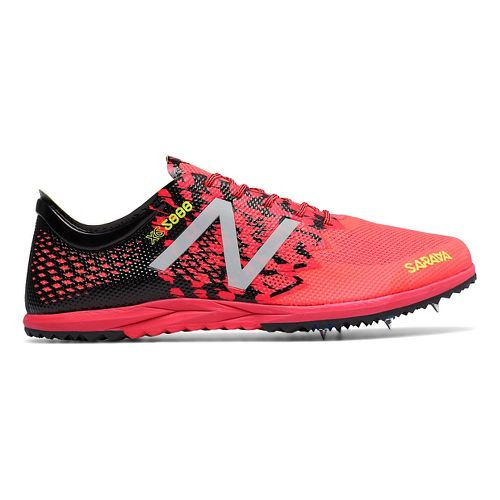 Mens New Balance XC5000v3 Cross Country Shoe - Pink/Black 8
