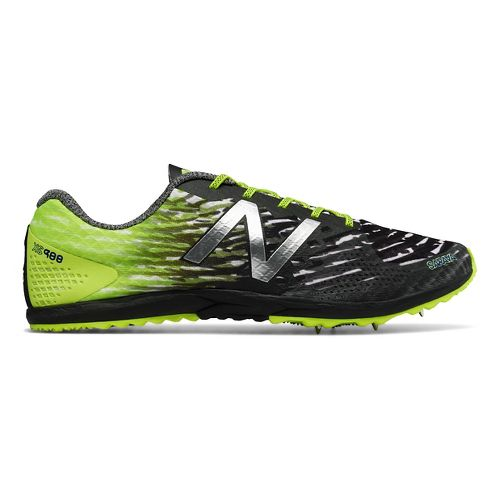 Mens New Balance XC900v3 Spike Cross Country Shoe - Yellow/Black 7.5