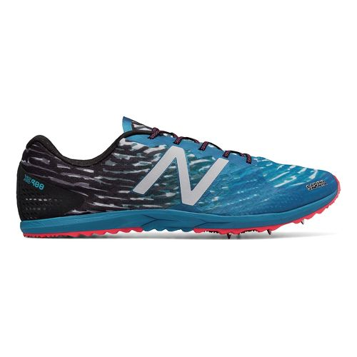 Mens New Balance XC900v3 Spike Cross Country Shoe - Black/Blue 10.5