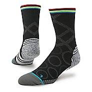 Mens Stance Fusion Run Rings Crew Socks