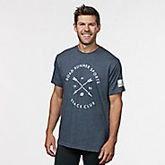 Mens R-Gear Track Club Graphic Tee Short Sleeve Technical Tops