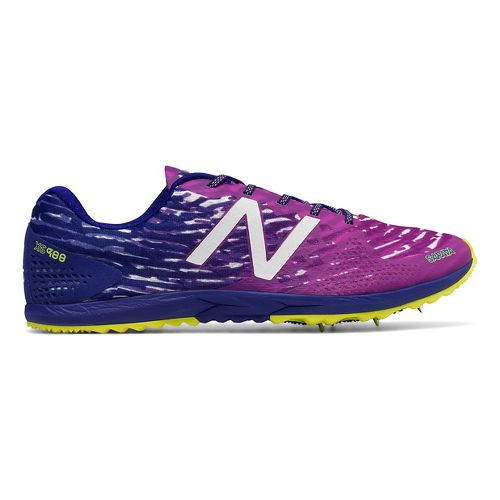 Womens New Balance XC900v3 Spike Cross Country Shoe - Pink/Purple 8.5
