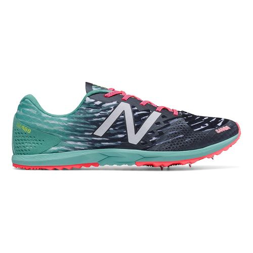 Womens New Balance XC900v3 Spike Cross Country Shoe - Black/Blue 6.5