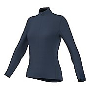 Womens adidas Climaheat Half-Zip Long Sleeve Technical Tops