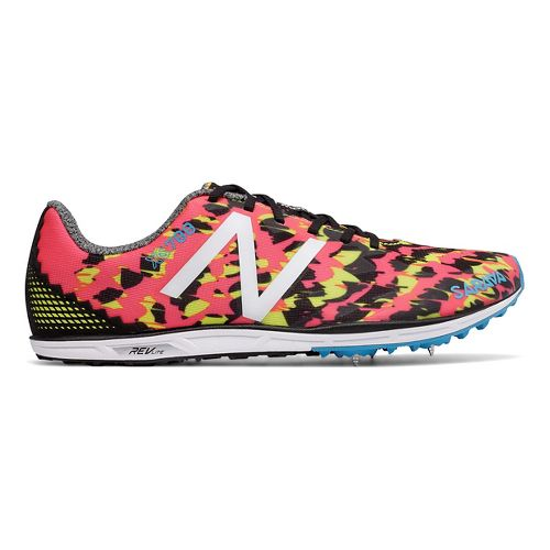 Womens New Balance XC700v4 Spike Cross Country Shoe - Pink/Black 8.5