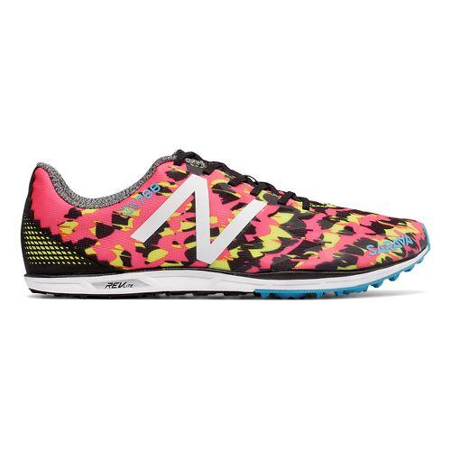 Womens New Balance XC700v4 Cross Country Shoe - Pink/Black 7.5