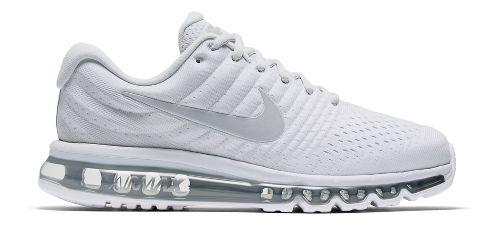 Mens Nike Air Max 2017 Running Shoe - White 10