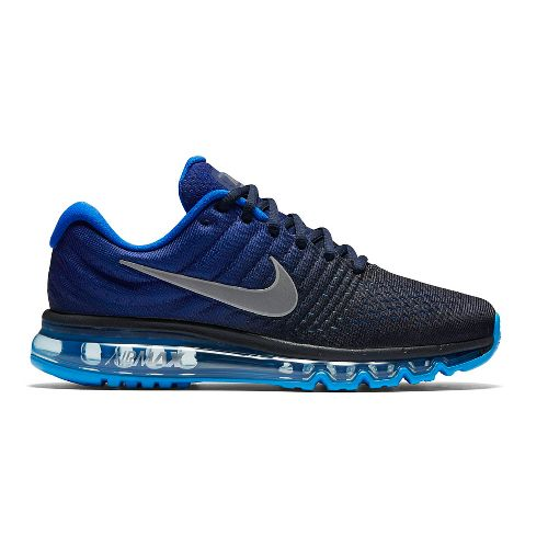 Mens Nike Air Max 2017 Running Shoe - Blue 10