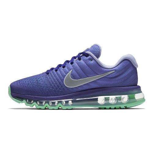 Womens Nike Air Max 2017 Running Shoe - Concord/Violet 8