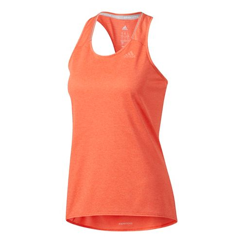Womens Adidas Supernova Sleeveless & Tank Tops Technical Tops - Easy Coral L