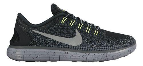 Mens Nike Free RN Distance Shield Running Shoe - Black 10.5