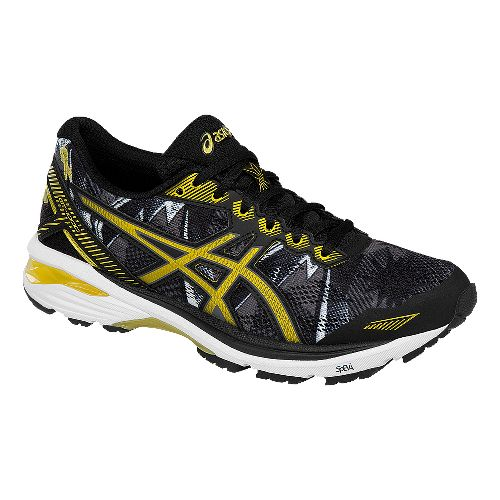 Womens ASICS GT-1000 5 GR Running Shoe - Black/Gold 10.5