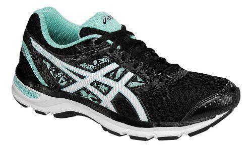 Womens ASICS GEL-Excite 4 Running Shoe - Black/Mint 11.5