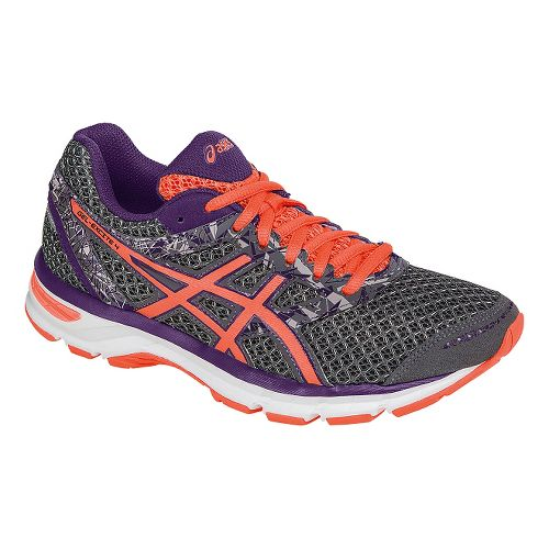 Womens ASICS GEL-Excite 4 Running Shoe - Grey/Coral 10.5