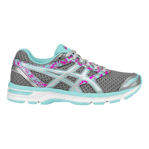Womens ASICS GEL-Excite 4 Running Shoe - Aluminum/Silver 10.5