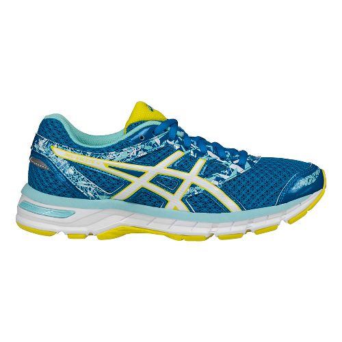 Womens ASICS GEL-Excite 4 Running Shoe - Blue/White 6.5