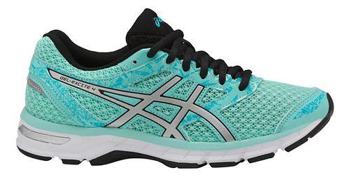 Womens ASICS GEL-Excite 4 Running Shoe - Blue/Silver/Aquarium 11