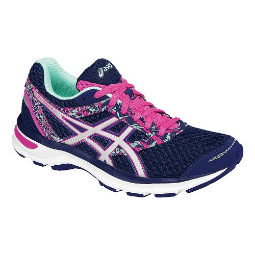 Womens ASICS GEL-Excite 4 Running Shoe - Navy/Mint 5