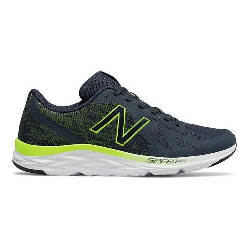 Mens New Balance 790v6 Racing Shoe - Grey/Yellow 11