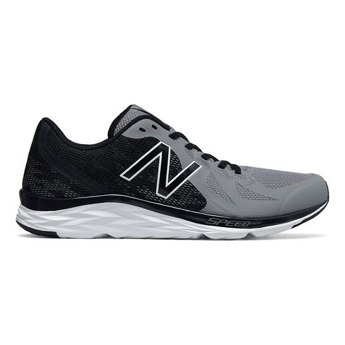 Mens New Balance 790v6 Racing Shoe - Steel/Black 14