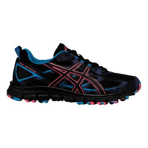 Womens ASICS GEL-Scram 3 Trail Running Shoe - Anthracite/Black 11