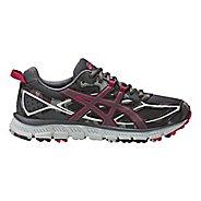 Womens ASICS GEL-Scram 3 Trail Running Shoe - Carbon/Pink 10.5
