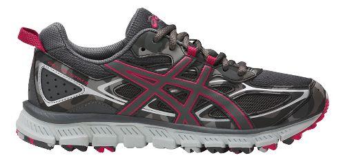 Womens ASICS GEL-Scram 3 Trail Running Shoe - Carbon/Pink 11.5