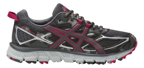 Womens ASICS GEL-Scram 3 Trail Running Shoe - Carbon/Pink 7