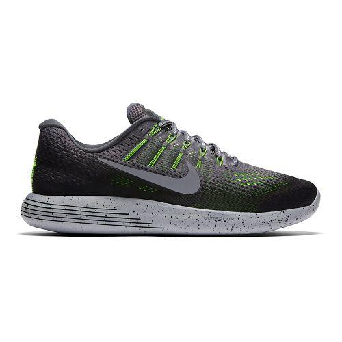 Mens Nike LunarGlide 8 Shield Running Shoe - Grey 10.5