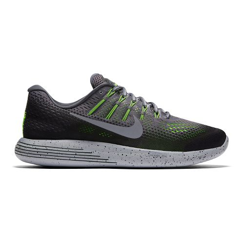Mens Nike LunarGlide 8 Shield Running Shoe - Grey 9