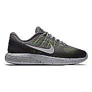 Womens Nike LunarGlide 8 Shield Running Shoe - Charcoal 10
