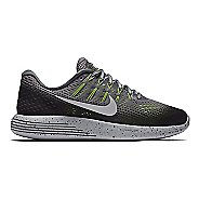 Womens Nike LunarGlide 8 Shield Running Shoe - Charcoal 9.5