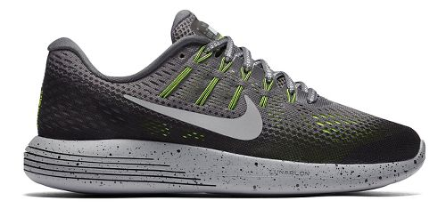 Womens Nike LunarGlide 8 Shield Running Shoe - Charcoal 7