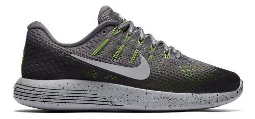 Womens Nike LunarGlide 8 Shield Running Shoe - Charcoal 9