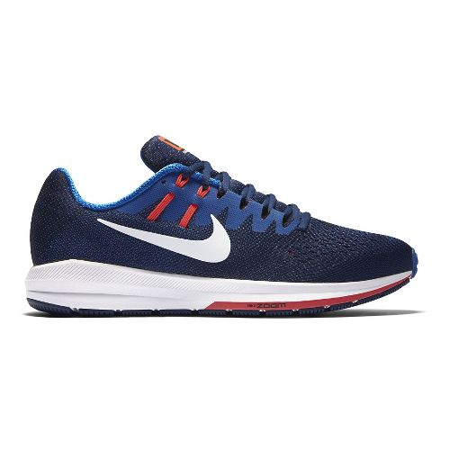 Mens Nike Air Zoom Structure 20 Running Shoe - Blue 11
