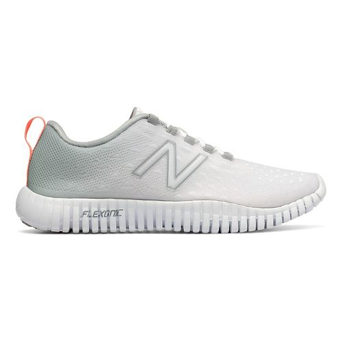 Womens New Balance 99v1 Cross Training Shoe - Silver/White 8.5