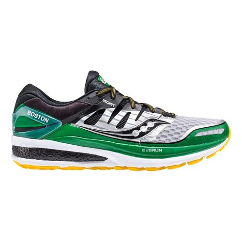Mens Saucony Boston Triumph ISO 2 Running Shoe - Silver 8