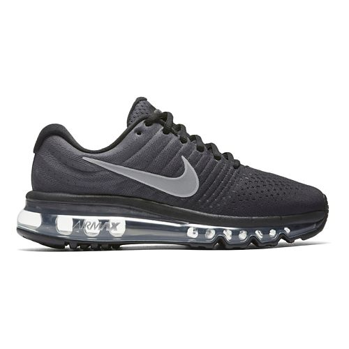 Kids Nike Air Max 2017 Running Shoe - Black/White 6Y