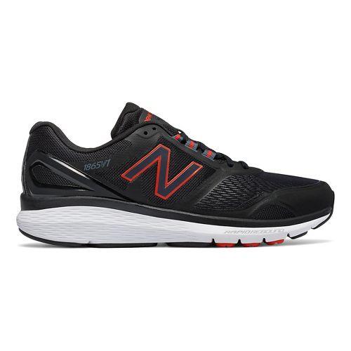 Mens New Balance 1865v1 Walking Shoe - Black/Black 13