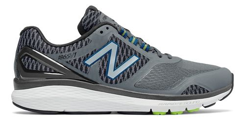 Mens New Balance 1865v1 Walking Shoe - Grey/Black 7.5