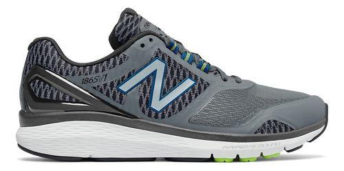 Mens New Balance 1865v1 Walking Shoe - Grey/Black 9.5