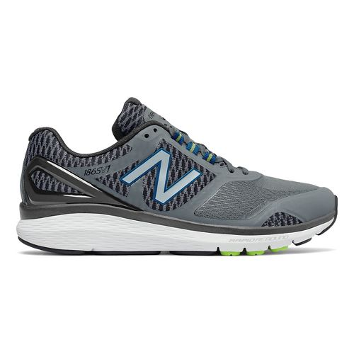 Mens New Balance 1865v1 Walking Shoe - Grey/Black 12