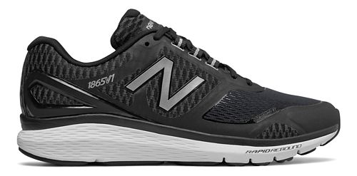 Mens New Balance 1865v1 Walking Shoe - Black/Silver 11.5