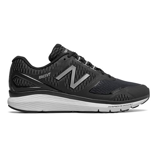 Mens New Balance 1865v1 Walking Shoe - Black/Silver 8.5