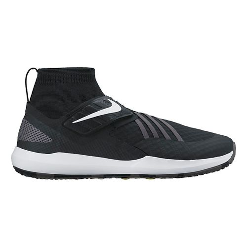 Mens Nike Flylon Train Dynamic Cross Training Shoe - Black/White 10.5