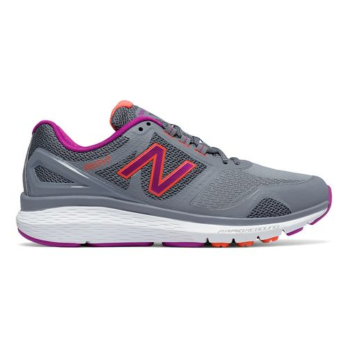 Womens New Balance 1865v1 Walking Shoe - Grey/Silver 12