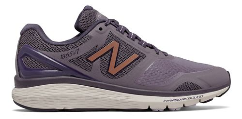 Womens New Balance 1865v1 Walking Shoe - Berry/Rose Gold 8.5